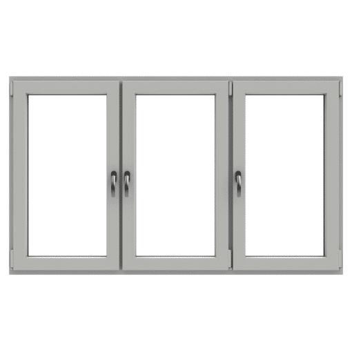 Polaris öppningsbart fönster 3-luft PVC