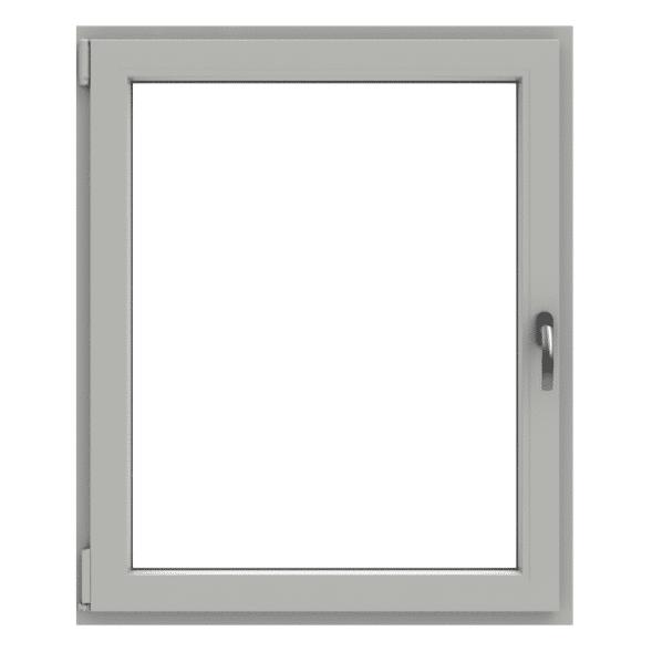 Polaris öppningsbart inåtgående fönster 1-luft PVC