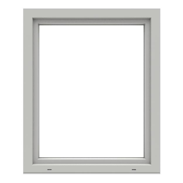 Polaris öppningsbart inåtgående fönster 1-luft stängt utifrån PVC