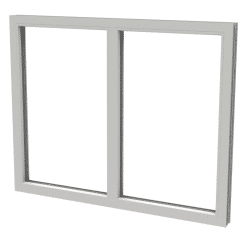 Avans fast 2-luft PVC från Kronfönster