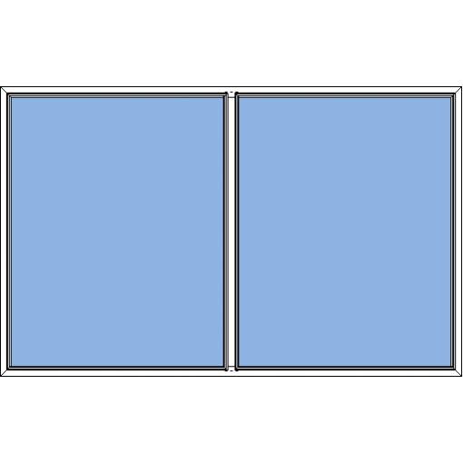 Småland - fast fönster 2-luft
