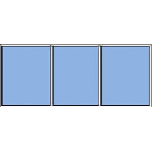 Småland - fast fönster 3-luft