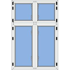 Utåtgående fönster