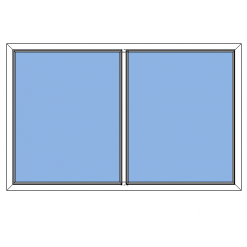 Avans fast fönster 2-luft
