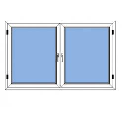 Avans inåtgående sidohängt fönster
