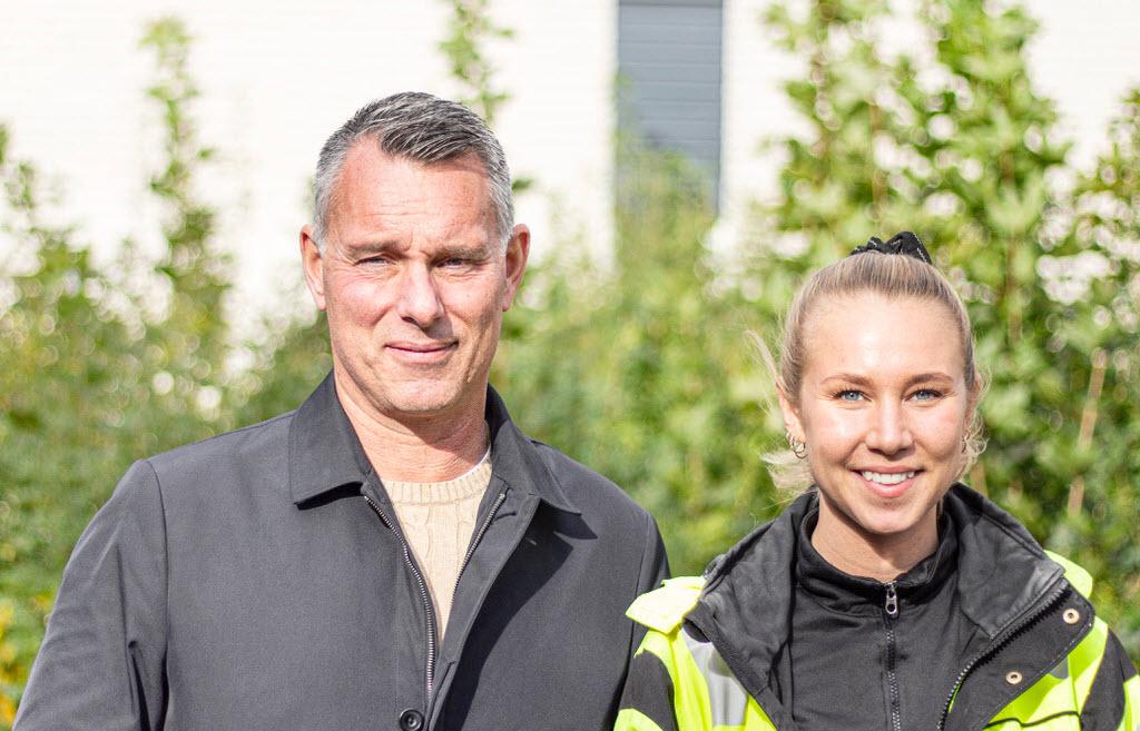 Björn Jevin Kronfönster och Dynacons Frida Karlsson